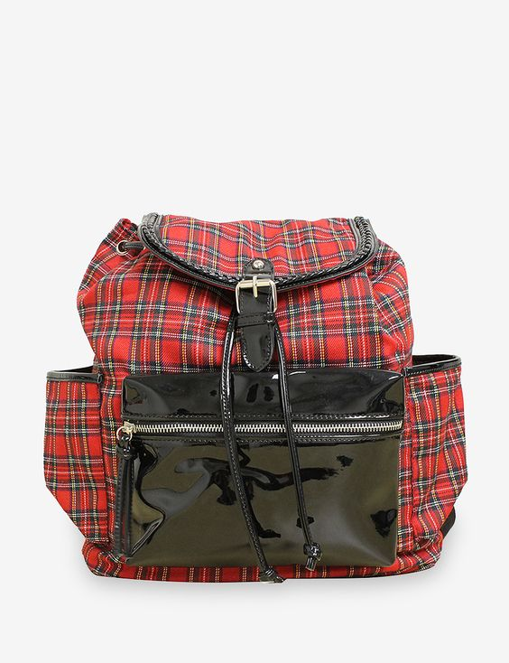 Gotta Flurt Westwood – Red Plaid Backpack - Accessories | Stage Stores