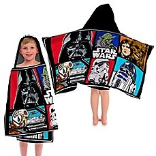 image of Star Wars™ Classic Character Hooded Towel