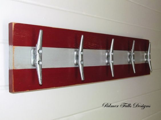 Women S Nautical Bathroom Decor Ideas: Cleats, Towel Racks And Nautical On Pinterest