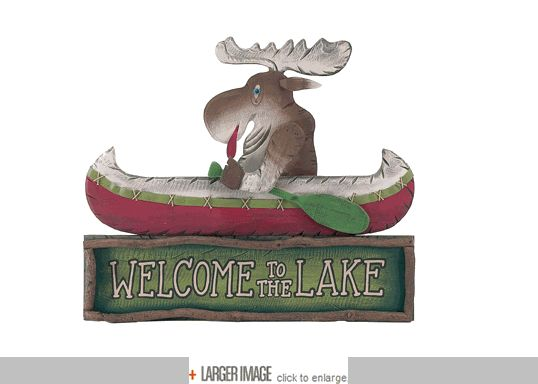 Welcome to the Lake Moose Canoe - 33""