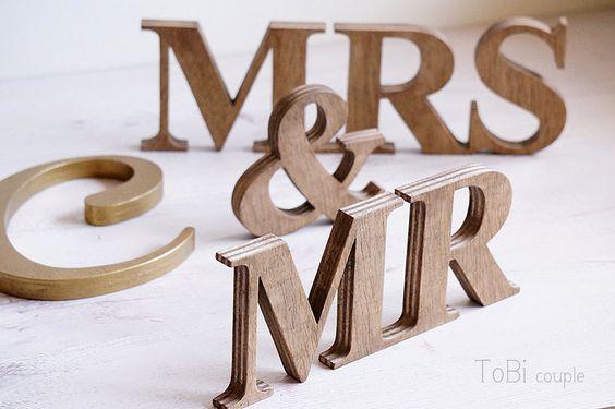 Rustikale Hochzeit Zeichen Herr & Frau von ToBicouple auf Etsy