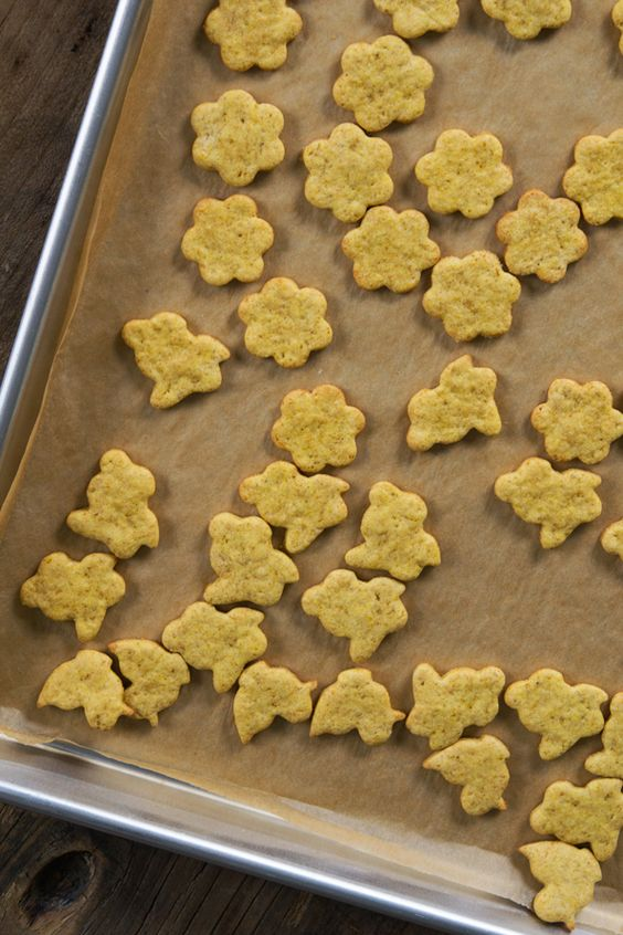 Gluten Free Pumpkin Animal Crackers - Gluten-Free on a Shoestring
