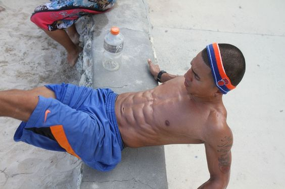 Many Different Ab Exercises