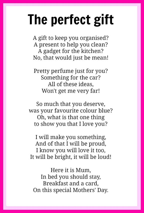 Mothers 39 Day Poems Pinterest Mothers Gifts And Mother