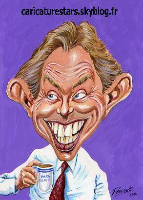 Tony Blair by Chez Mamie Annie