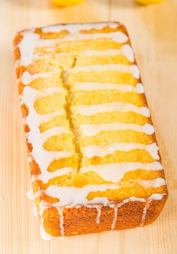 Better Than Starbucks Lemon Drizzle Cake