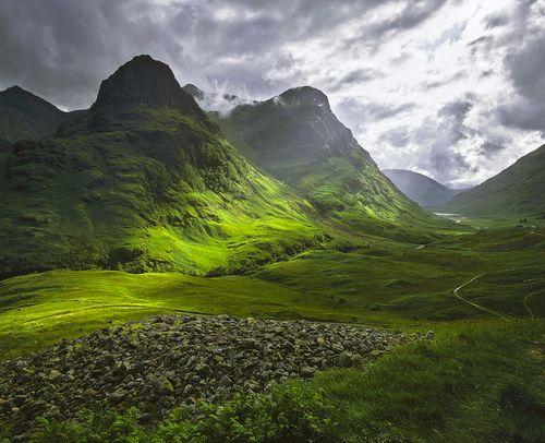 Green Glencoe, Highlands, Scotland