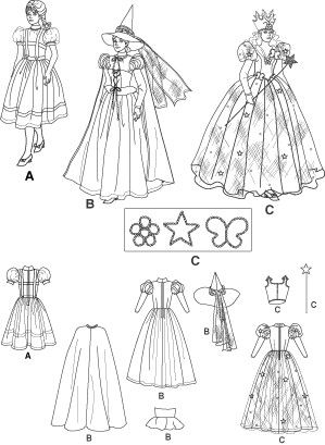 Diy Sewing Pattern Simplicity 4136 Wizard Of Oz Dorothy