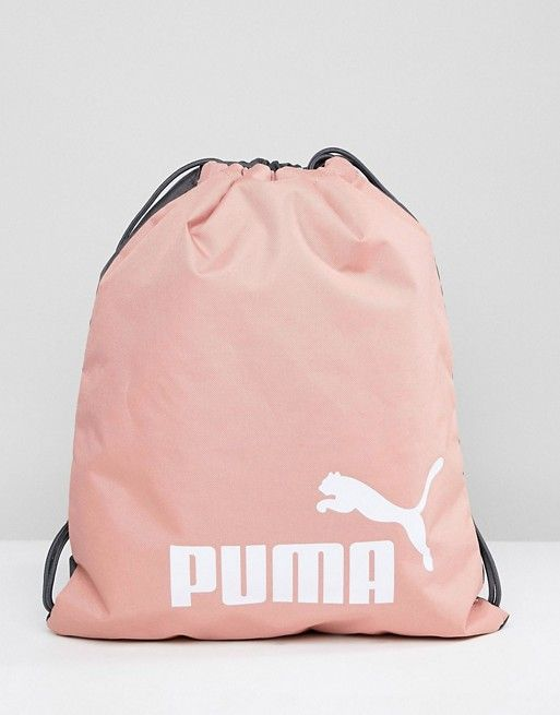 Puma Phase Drawstring Bag In Pink 07494328 | Bags ...