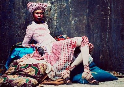 Alek Wek by Andrew Yee for FT How To Spend It