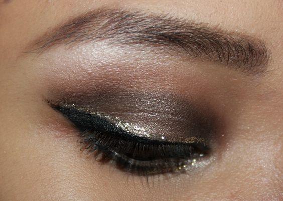 Glittery eyes