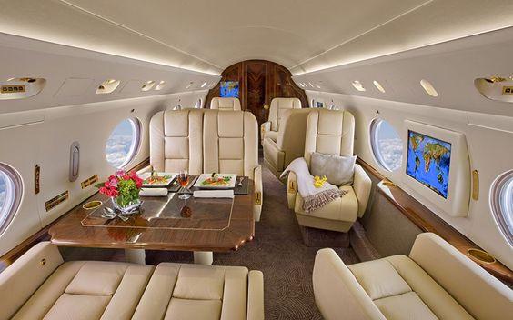 interieurs de jets prives incroyables 8   Intérieurs de jets privés incroyables   photo Nick Gleis luxe jet prive image design avion