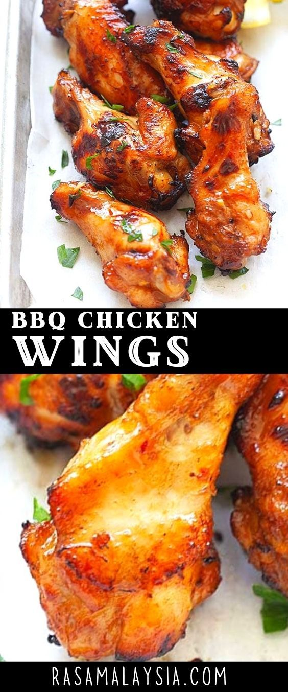 Bbq Chicken Wings In 2021 Bbq Recipes New Chicken Recipes Yummy Chicken Recipes