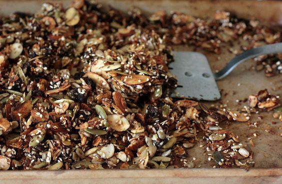 grain free granola by molly dunham, via Flickr