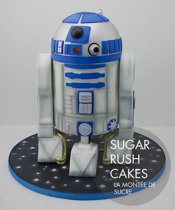 R2d2 2 Cake