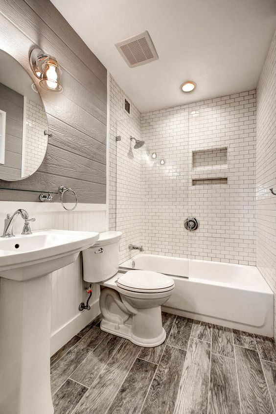 Colorful Small Bathroom Ideas - Dark Shades combination White Black Stripe Bathroom Remodel Lighting Bathroom Ideas - White Soft Green Vertical Lines Blue White