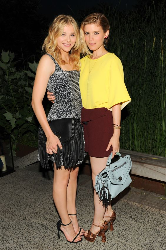 where to buy chloe bags - Spotted in Coach: Chloe Moretz and Kate Mara at the 2014 Summer ...