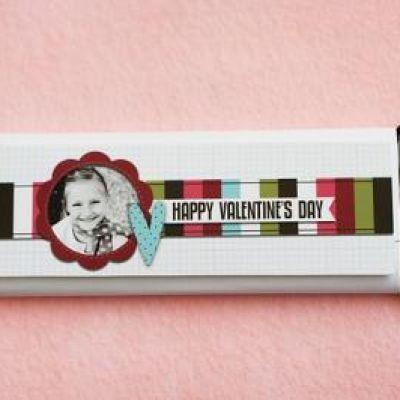 Photo Candy bar Wrapper printable