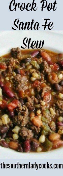 Crock Pot Santa Fe Stew