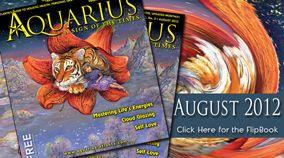 Aquarius News online cover graphics.