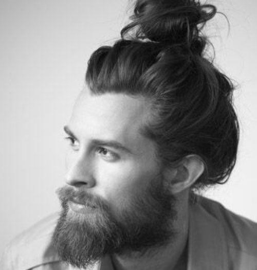 33 Beard Styles For 2017 | Buns, Man bun and beard and Beards
