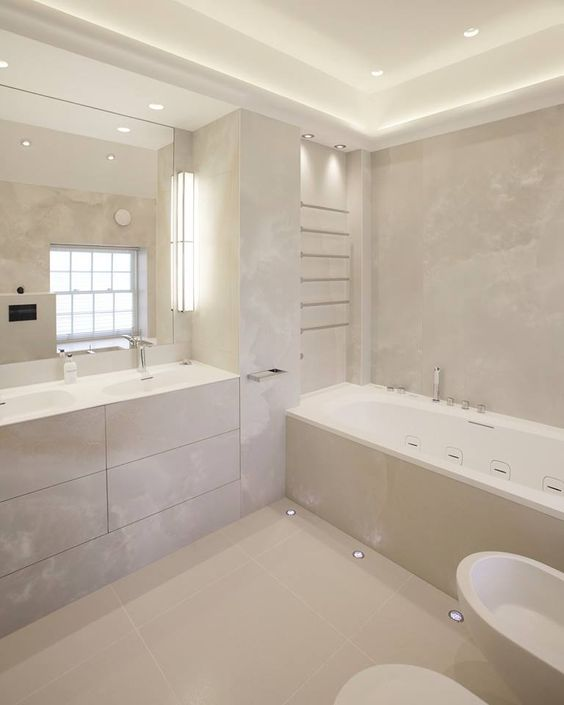 Ceramic Ariostea, design Onice Grigio, bathroom