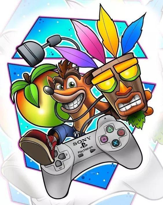 Pin De Erica Jones En Crash Dibujos De Juegos Arte De Videojuegos Fondos De Pantalla De Juegos