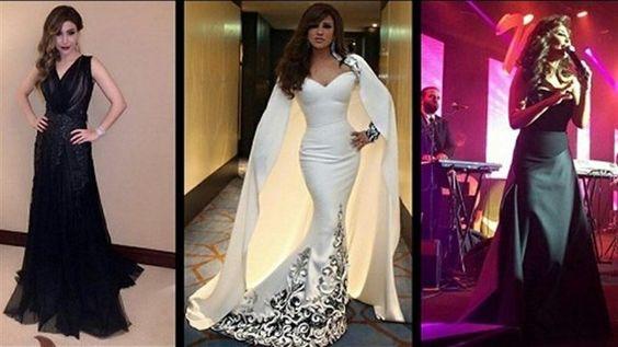 اطلالات النجمات ليلة رأس السنة.. وما هو ثمن فستان نيكول سابا - http://mtm.am/g4660