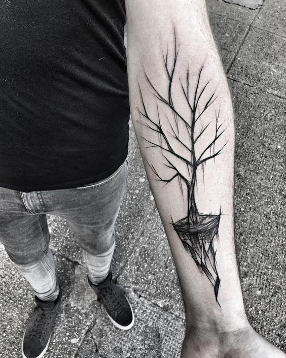 Tatuajes De Arboles Y Bosques 256 Fotos Hombre Mujer Disenos Del Tatuaje Del Arbol Tatuaje Arbol De La Vida Tatuajes Chiquitos