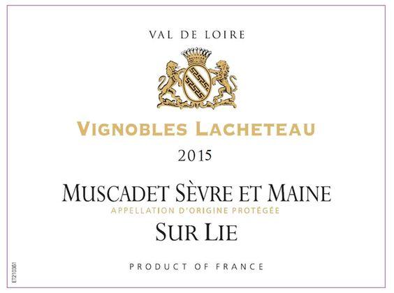 Plume Ridge / Vignobles Lacheteau Muscadet Sevre et Maine Sur Lie