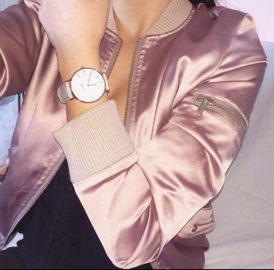 jacket pink bomber jacket: