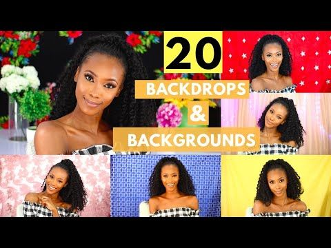 20 Easy Background And Backdrop Ideas For Youtube Videos Youtube Youtube Channel Ideas Youtube Backdrops Backdrops