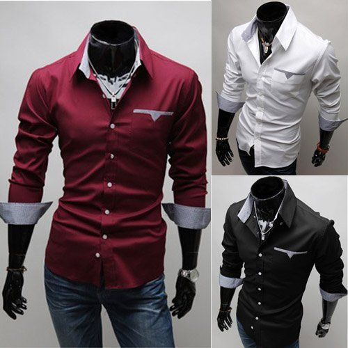 Mens Design-Shirts Party Wear  Dress Shirts  Pinterest  Men ...