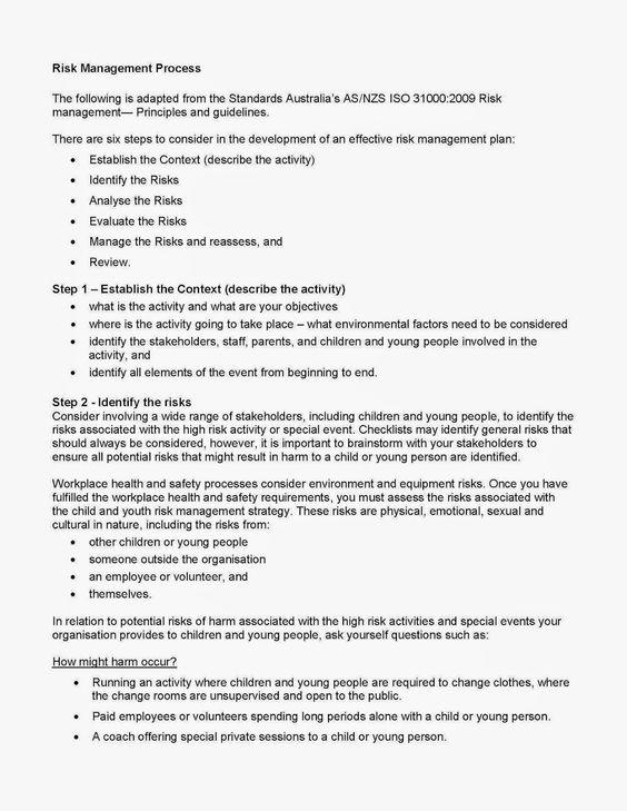 Risk Management Risk Management Pinterest Risk management - effective employee management strategy