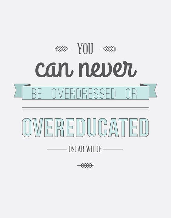 """""""You can never be overdressed or overeducated"""" - Quote by Oscar Wilde Gutscheine, Rabatte & Gutscheincodes erhaltet ihr unter: http://www.deals.com/ #gutschein #gutscheincode #sparen #shoppen #onlineshopping #shopping #angebote #sale #rabatt #quote #zitat"""