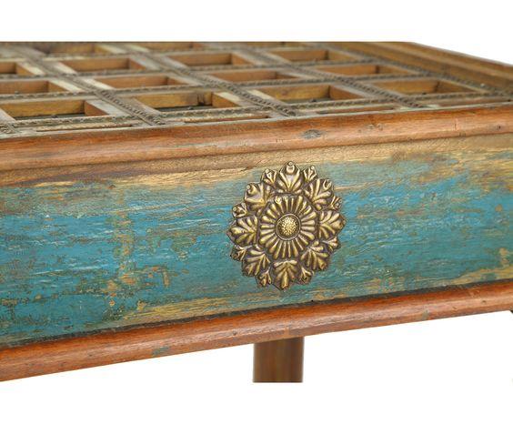 Стол кофейный - дерево манго, 59 x 59 x 46 см | Westwing Интерьер & Дизайн:
