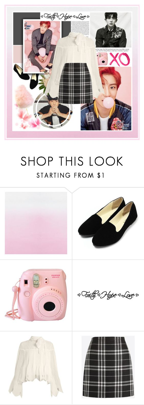 """""""Chanyeol [ EXO ] ✿ Faith. Hope. Love.✿"""" by julia-ngo ❤ liked on Polyvore featuring GALA, Fujifilm, See by Chloé and J.Crew"""