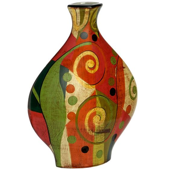 Picasso vase - the colours are out of this world