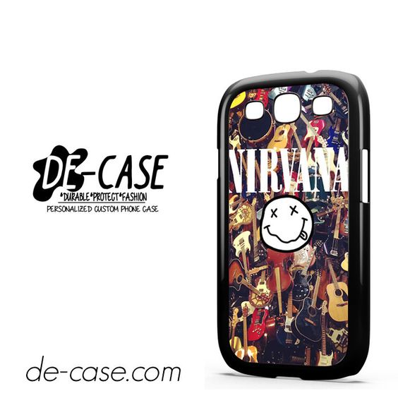 Nirvana Guitars Collage DEAL-7989 Samsung Phonecase Cover For Samsung Galaxy S3 / S3 Mini