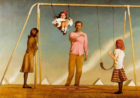 BO BARTLETT : PAINTINGS : THE NEW WORLD