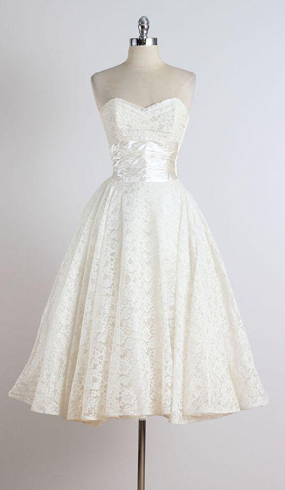 Tenuta Virgilio . vintage 1950s dress . vintage wedding dress ...