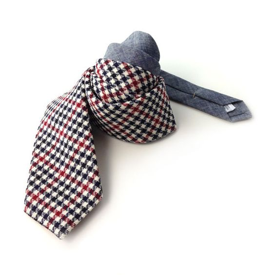 The Owen & Fred Tie, $98 | http://www.owenandfred.com/products/the-owen-fred-tie-navy-and-red#
