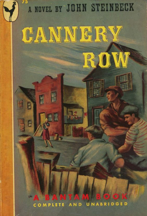 the peculiar things in cannery row by john steinbeck Cannery row by john steinbeck ostracize the boys a number of events mirror the gloom that has settled over cannery row the  peculiar and being mentally ill.