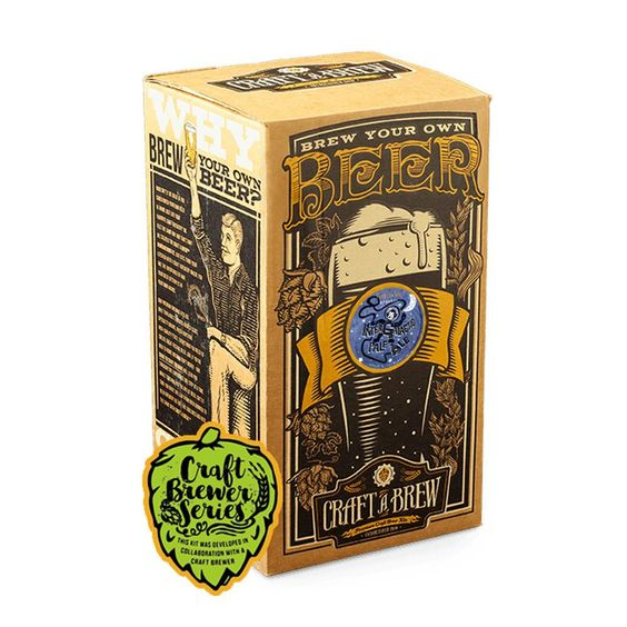 Craft A Brew - Intergalatic Pale Ale Beer Kit Want to brew a truly unique beer inspired by a great Florida craft brewery? Our Intergalactic Pale Ale home brewing starter kit is a collaboration with Seventh Sun Brewery out of Dunedin, FL. This single-hopped pale ale gets its name from an Australian hop variety called Galaxy and it is truly out of this world!