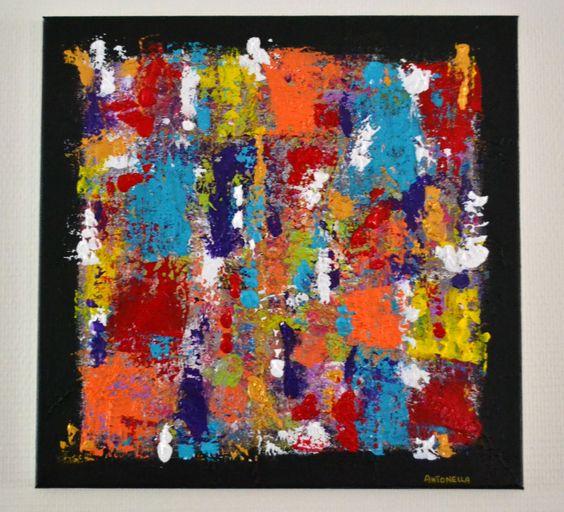 tableau abstrait moderne color tableau contemporain tableau peinture abstraite moderne. Black Bedroom Furniture Sets. Home Design Ideas