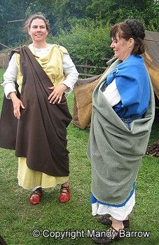 Roman clothes homework help