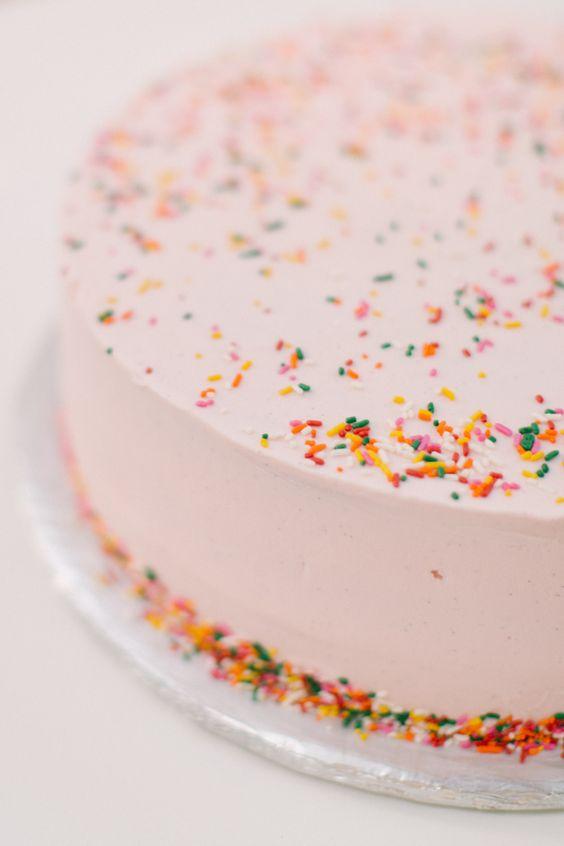 pink + sprinkles