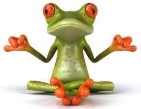 Writing goals or Frog yoga