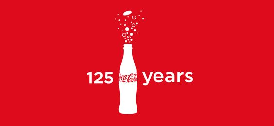 Coca Cola Logo 125 Years