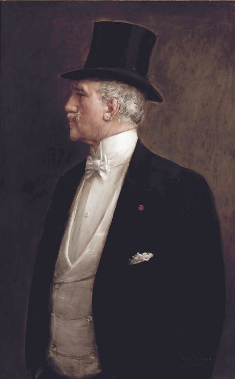 Self-portrait, 1909 -- Jean Béraud